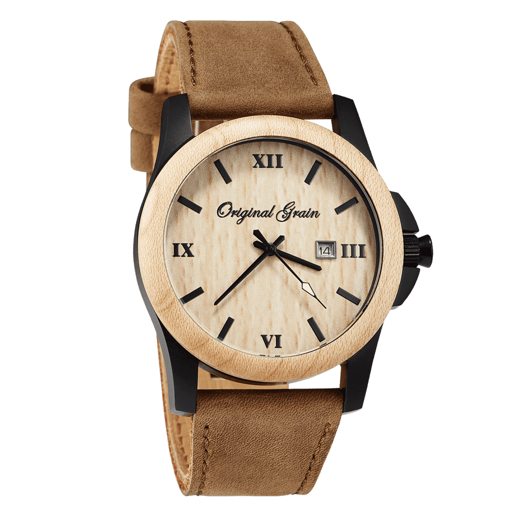 Maplewood Leather Classic 43mm