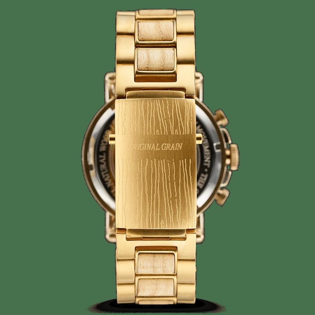 Ashwood Blue Stay Gold Chrono 44mm