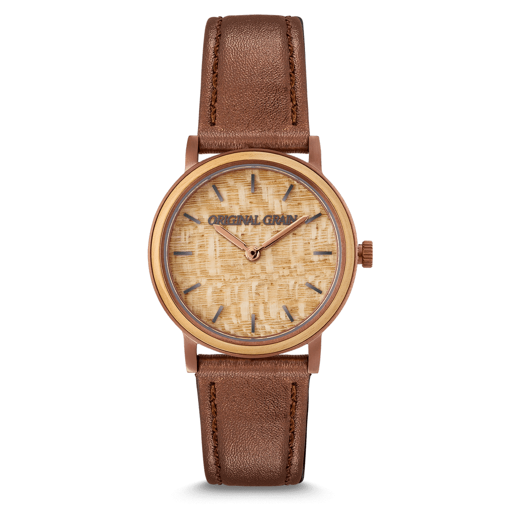 Burlwood Espresso Womens Avalon 34mm