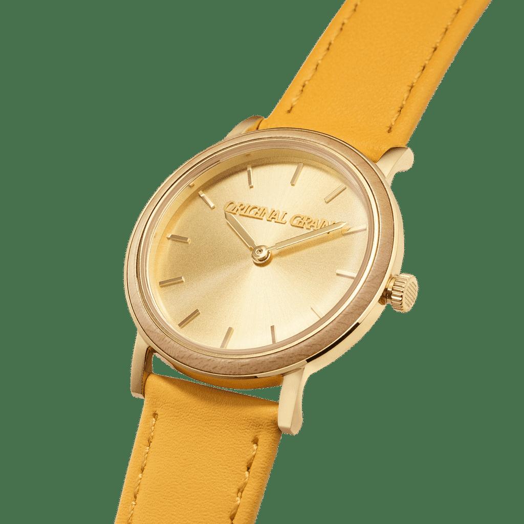 Somerset Poplar Gold Womens Avalon 34mm