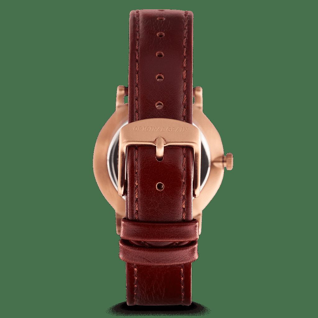 Vino Rosegold Oak Womens Avalon 34mm