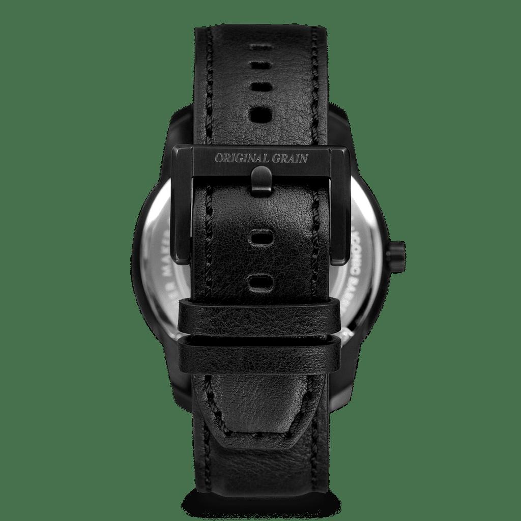 Oak Black Barrel Leather 42mm