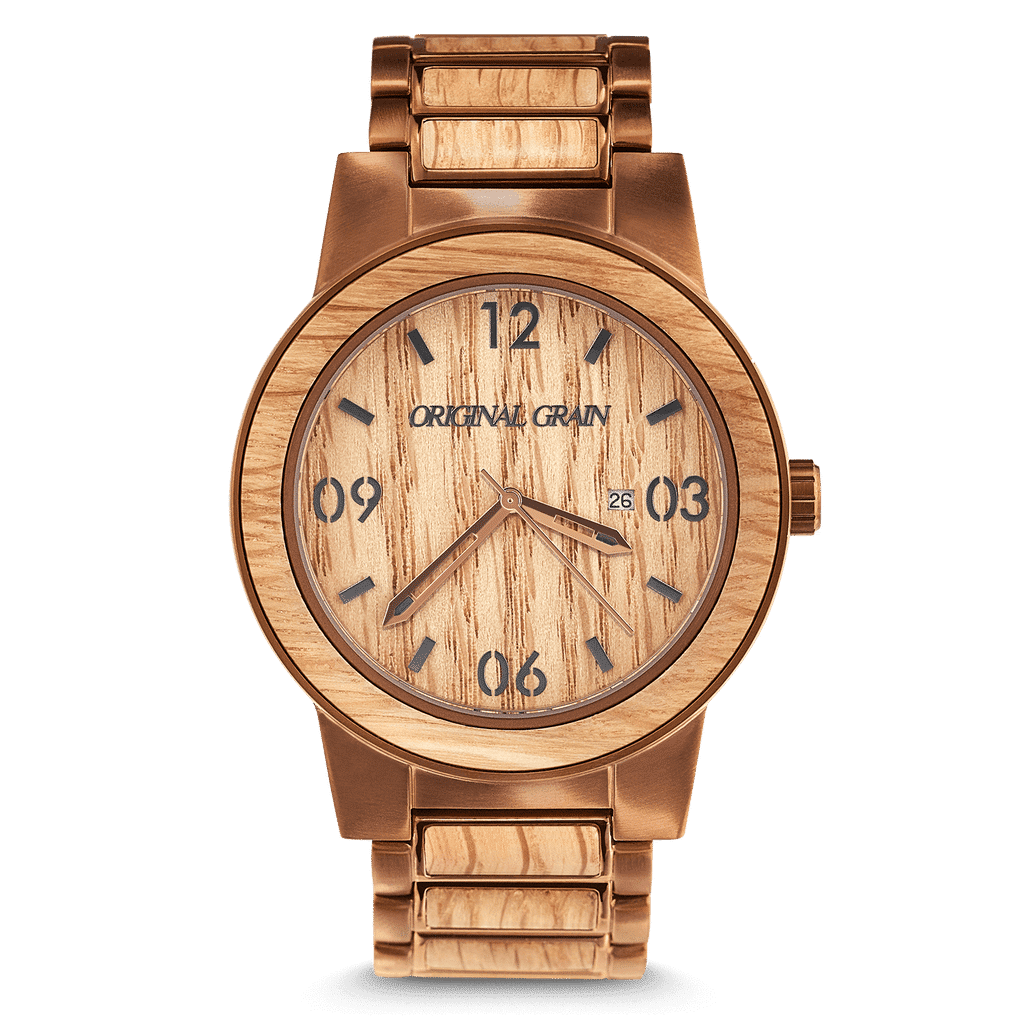 Front of Whiskey Barrel 47mm by Original Grain