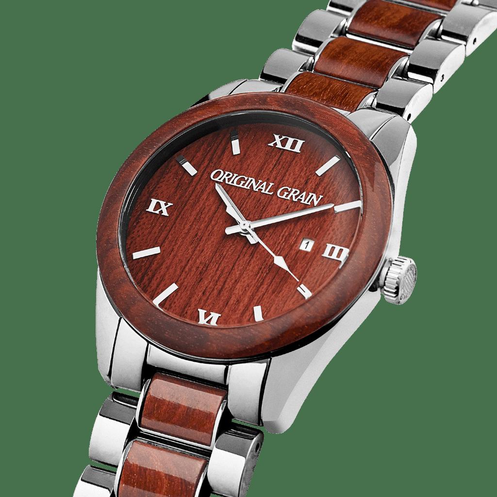 Rosewood Chrome Classic 43mm