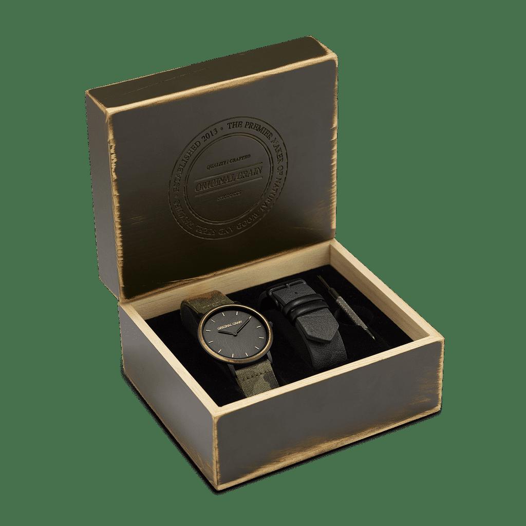 Collector's Box Caliber Military Minimalist Set 40mm