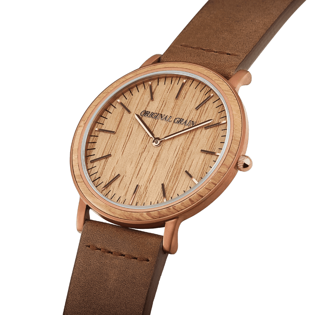 Whiskey Espresso Minimalist 40mm by Original Grain