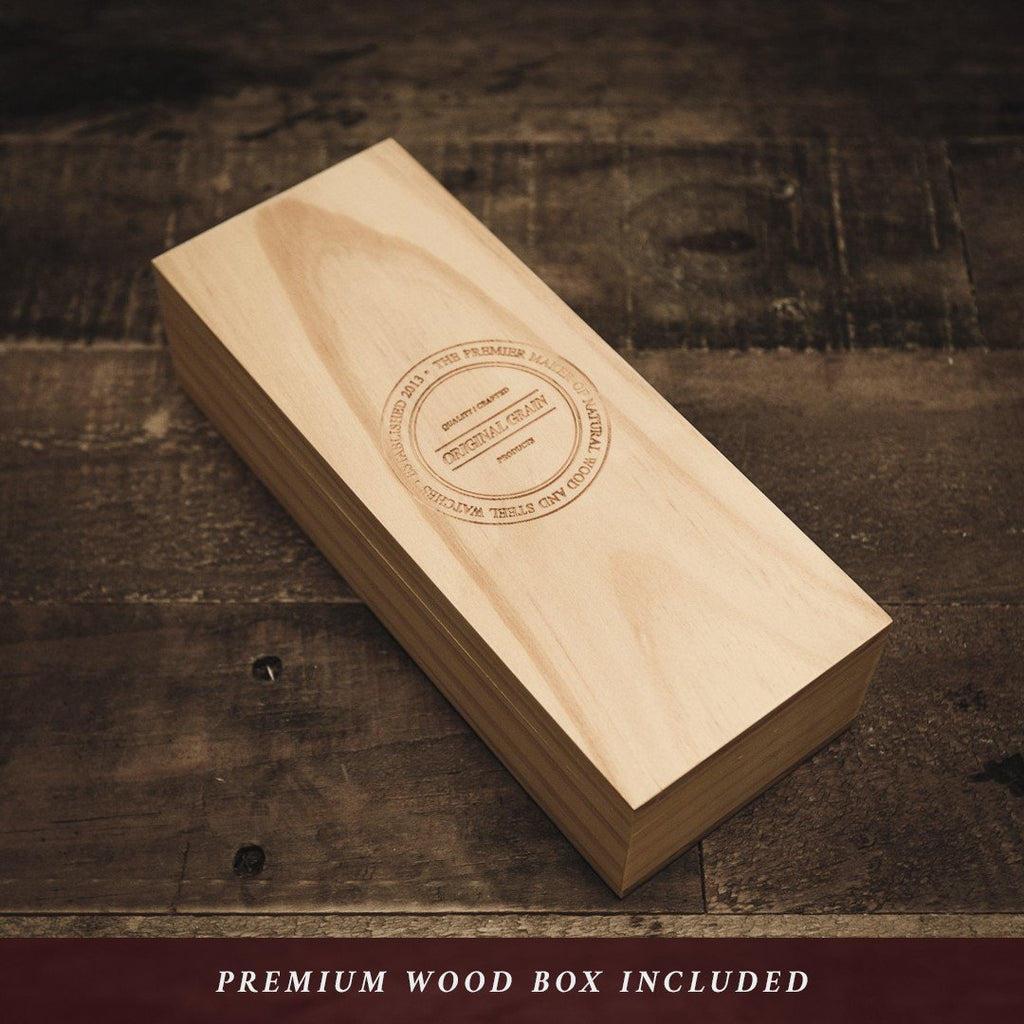 Zebrawood Rosegold Minimalist 40mm