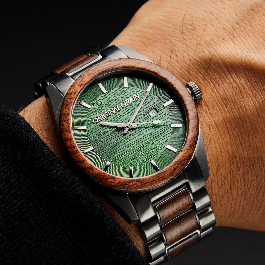 Walnut Evergreen Classic 43mm