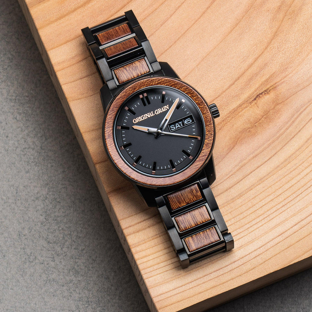 Sapele Black Womens Barrel 42mm