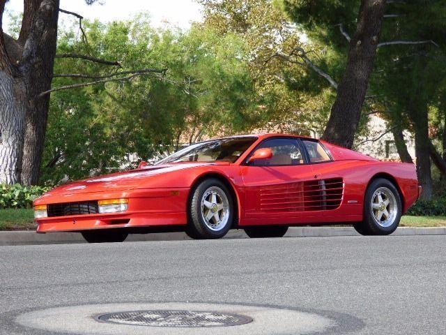 1990 Ferrari Testarossa Beautiful Rosso Corsa Red w/ Tan interior