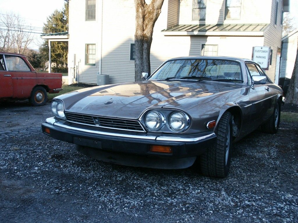 1986 Jaguar XJS V12 Restoration Project, Runs and Drives
