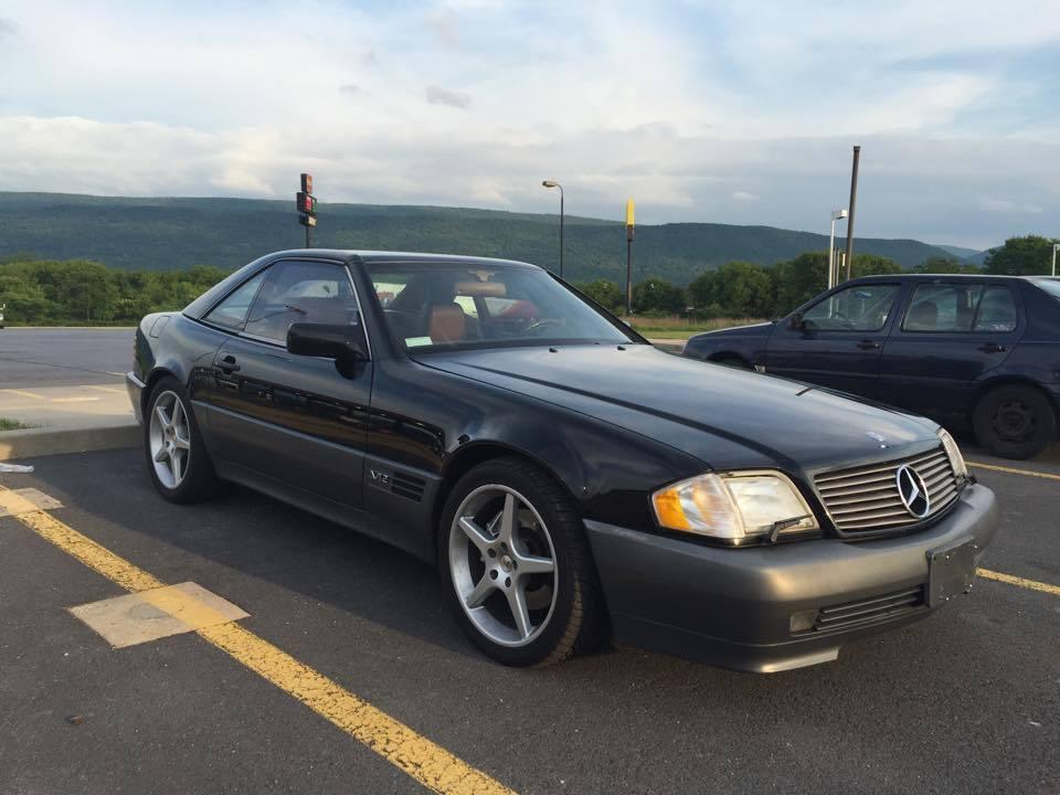 1994 Mercedes Benz SL Class SL600