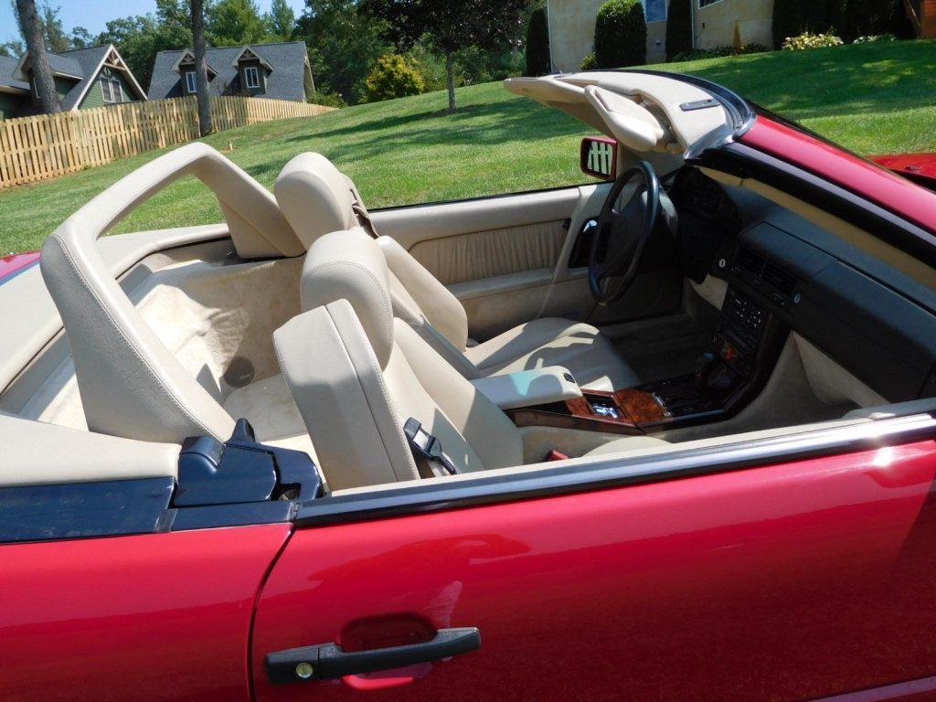 GREAT 1994 Mercedes Benz SL Class Convertble