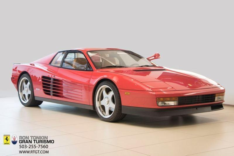 AWESOME 1986 Ferrari Testarossa