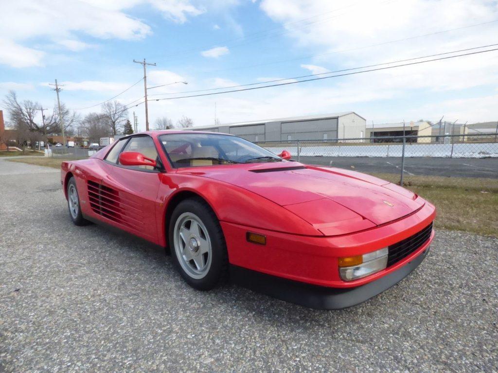 GREAT 1987 Ferrari Testarossa