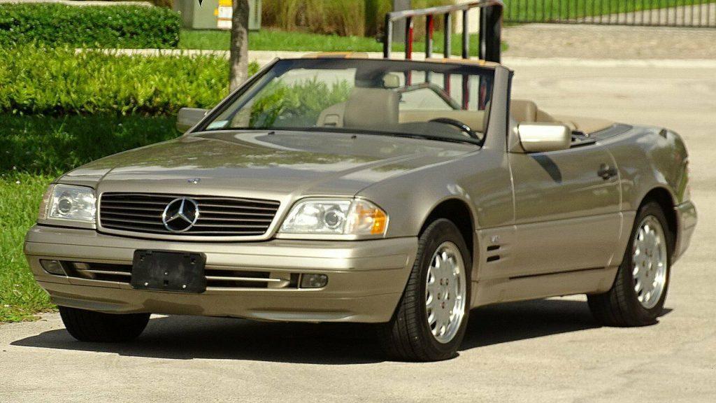 1997 Mercedes Benz SL600 Roadster, 39,000 miles