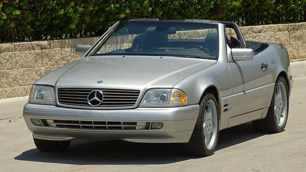 1998 Mercedes Benz SL Class SL600