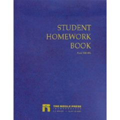 Riegle Press Student Homework Book Thumbnail
