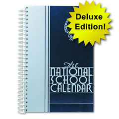 Riegle Press National School Calendar; Deluxe Hard Cover Edition