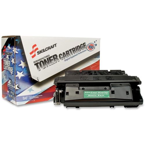 SKILCRAFT Remanufactured Toner Cartridge - Alternative for HP 27X (C4127X)  - Laser - 10000 Pages - Black - 1 Each