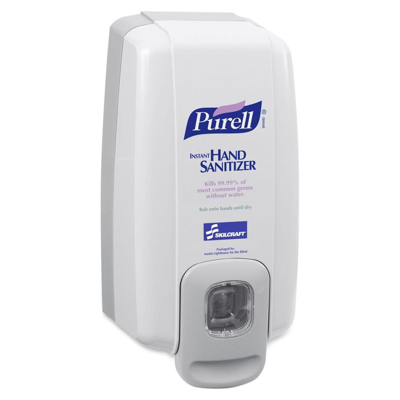 Skilcraft Purell Hand Sanitizer Dispenser Manual 1000ml Gray