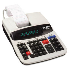 Victor® 1297 Commercial Printing Calculator with Left Side Total and Equals Plus Logic Thumbnail