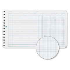 Wilson Jones® Six-Ring Ledger Binder Refill Sheets Thumbnail