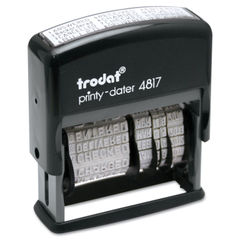 Trodat® Economy 12-Message Date Stamp Thumbnail