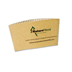 NatureHouse® Unbleached Paper Hot Cup Sleeves Thumbnail