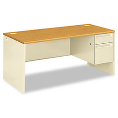 HON® 38000 Series™ Single Pedestal Desk Thumbnail