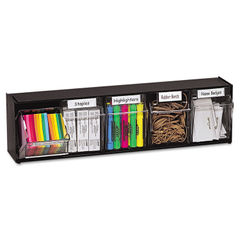 deflecto® Tilt Bin® Interlocking Multi-Bin Storage Organizer Thumbnail