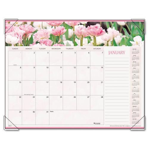 Floral AT-A-GLANCE Calendar at OnTimeSupplies.com.