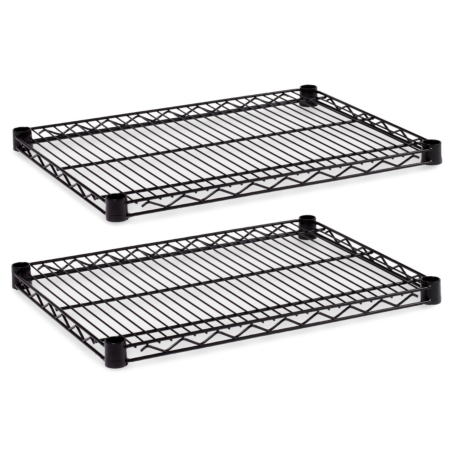 Amazing Industrial Wire Shelving Extra Wire Shelves 24W X 18D Black 2 Shelves Carton Download Free Architecture Designs Embacsunscenecom