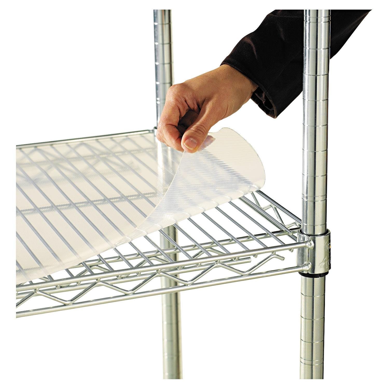 Alera Wire Shelving Shelf Lock Plastic Black 4 Clips//Pack