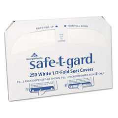 Georgia Pacific® Professional Safe-T-Gard™ Half-Fold Toilet Seat Covers Thumbnail