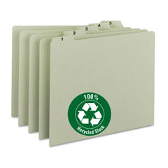 Smead® 100% Recycled Daily Top Tab File Guide Set Thumbnail