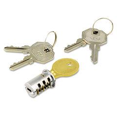 Alera® Lock Core for Metal Pedestals Thumbnail
