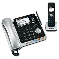 AT&T® TL86109 Two-Line DECT 6.0 Phone System with Bluetooth® and Digital Answering System Thumbnail