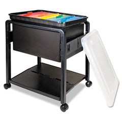 Advantus Folding Mobile File Cart Thumbnail