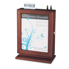 Safco® Customizable Wood Suggestion Box Thumbnail