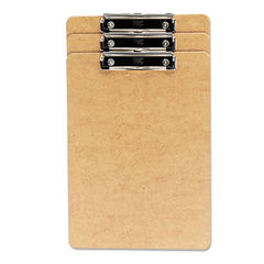 Universal® Hardboard Clipboard with Low-Profile Clip Thumbnail