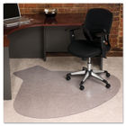66x60 Workstation Chair Mat, Professional Series AnchorBar for Carpet up to 3/4""