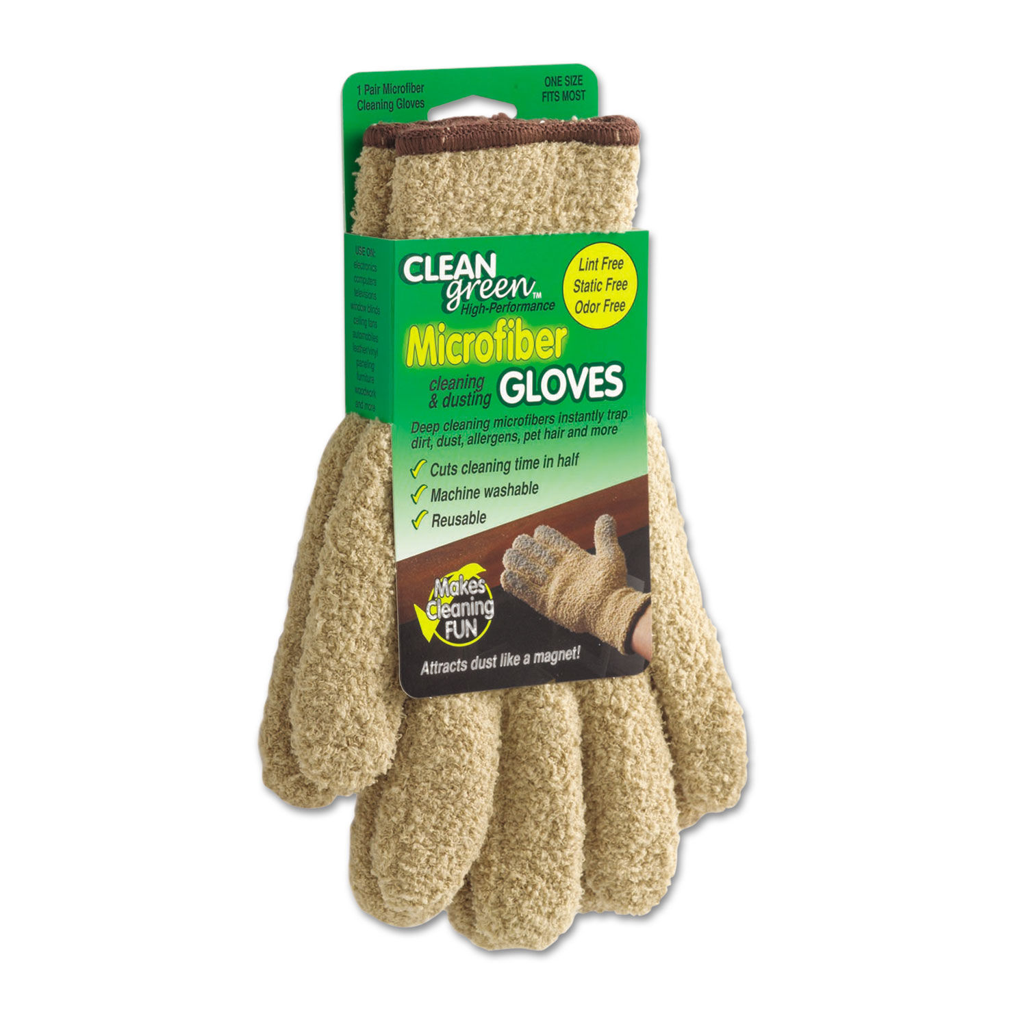 Cool Cleangreen Microfiber Cleaning And Dusting Gloves Pair Onthecornerstone Fun Painted Chair Ideas Images Onthecornerstoneorg