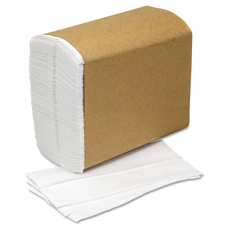 Paper Napkin, Single-Ply, White, 10000/Box, GSA 8540002857001