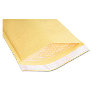 Sealed Air Jiffylite Cushioned Mailer 0 Bubble Lining Self Adhesive Closure 6 X 10 Golden Kraft 200 Pack Gsa 810500117986