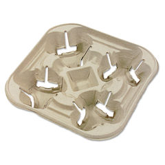 Chinet® StrongHolder® Molded Fiber Cup Trays Thumbnail