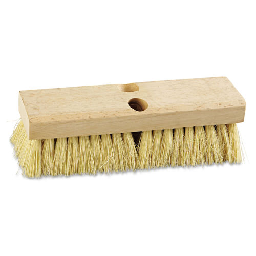 Deck Brush Head 10 Wide Tampico Bristles