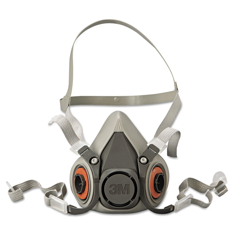3m 6000 half facepiece mask