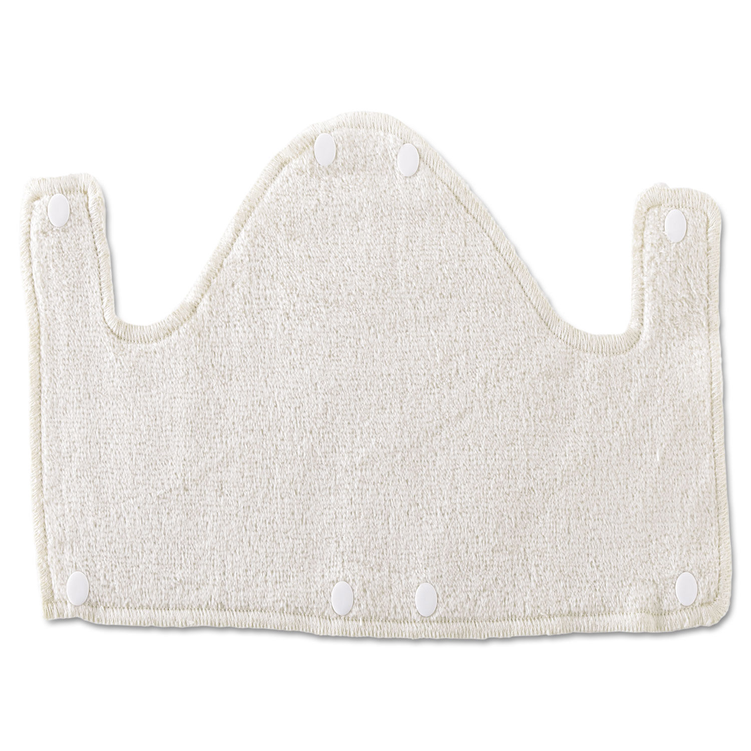 Hard-Hat Sweatband, Cotton, White, One Size Fits All, 10/Pack
