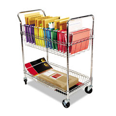 Alera® Carry-all Cart/Mail Cart Thumbnail